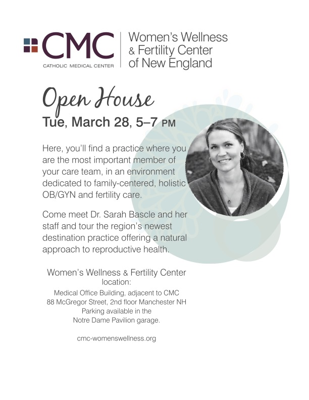 Women's Wellness & Fertility Center Open House @ Women's Wellness & Fertility Center | Manchester | New Hampshire | United States