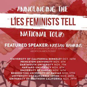 Kristan Hawkins: Lies Feminists Tell