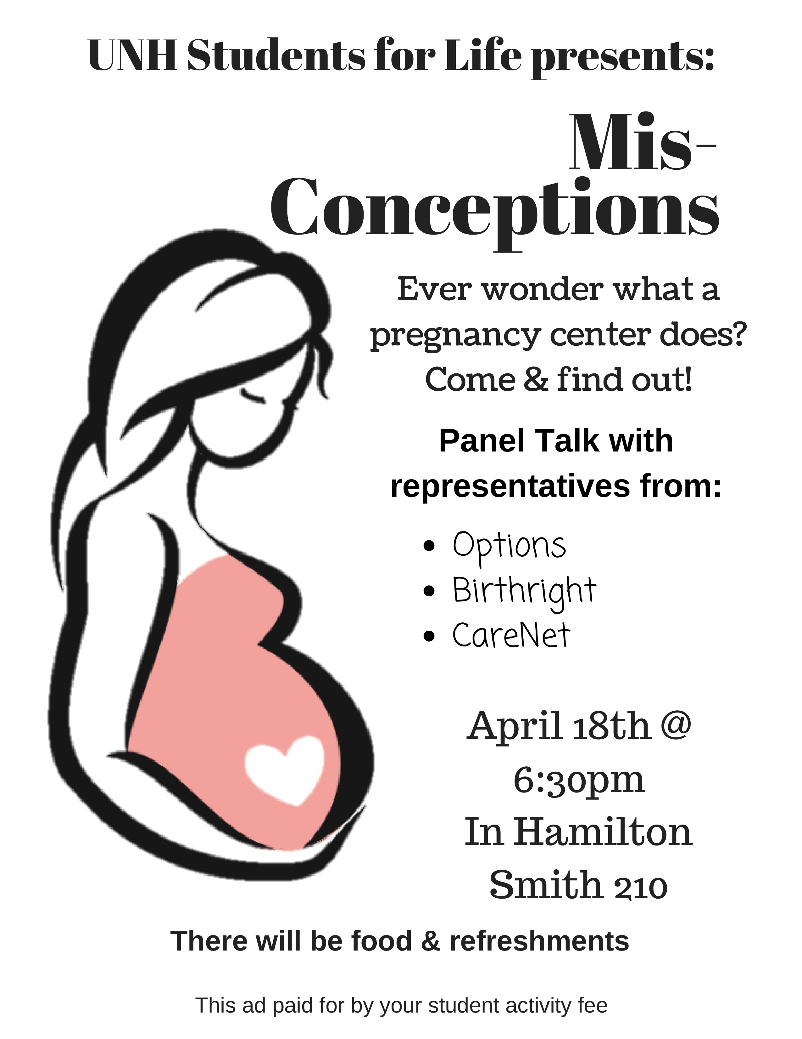 UNH Students for Life presents: Mis-Conceptions