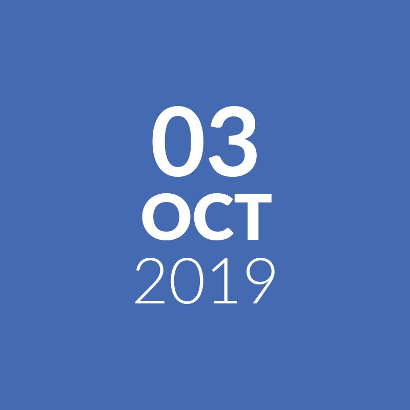 October 3, 2019