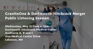 GraniteOne & DHMC Merger Public Listening Session - Lebanon @ Dartmouth-Hitchcock Medical Center, Auditoria A, B and C