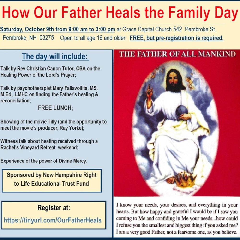 Our Father Heals Poster
